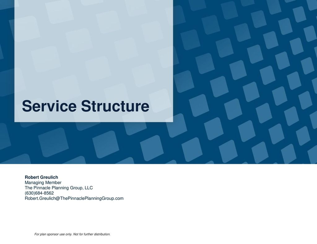 Table of Contents About Us About RPAG Service Structure Core