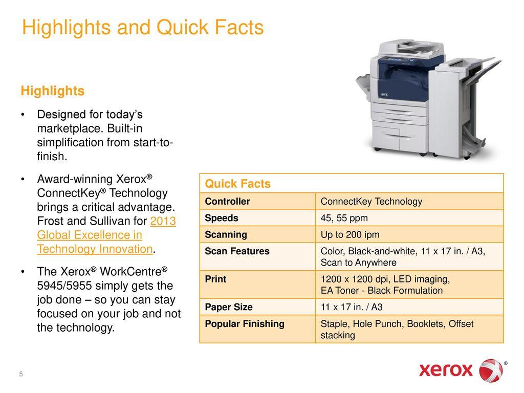 5945 xerox brochure