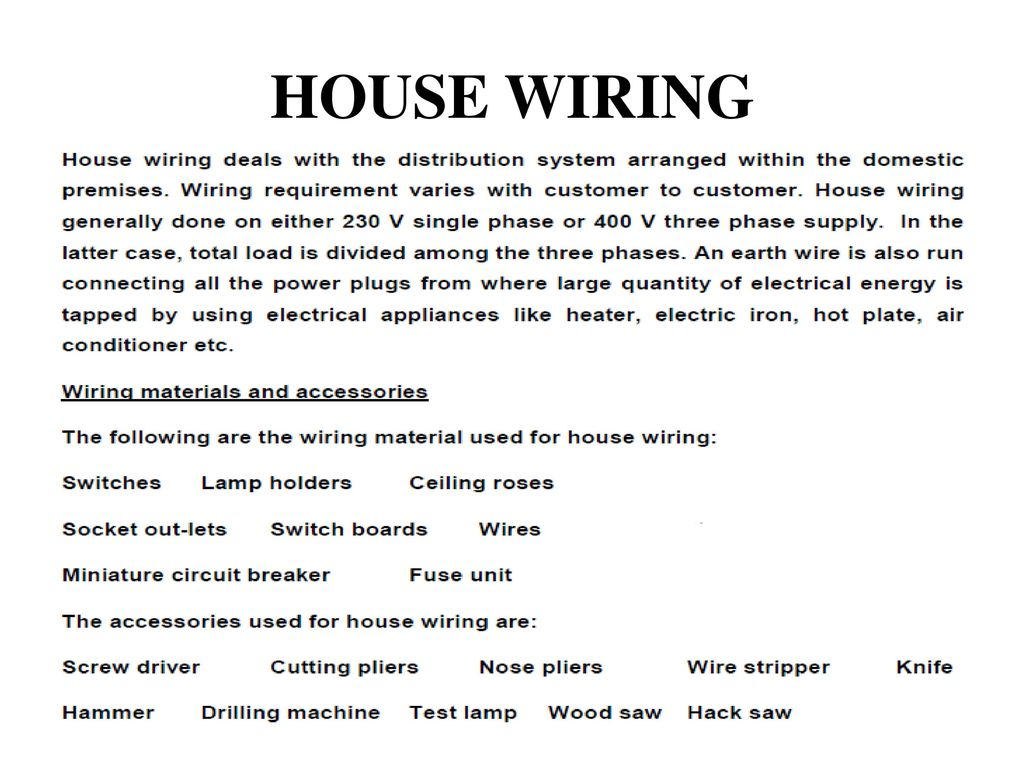 Unit 5 Electrical Safety Wiring Introduction To Power System Description Three Light Switches With Exposed Wiringjpg 20 House