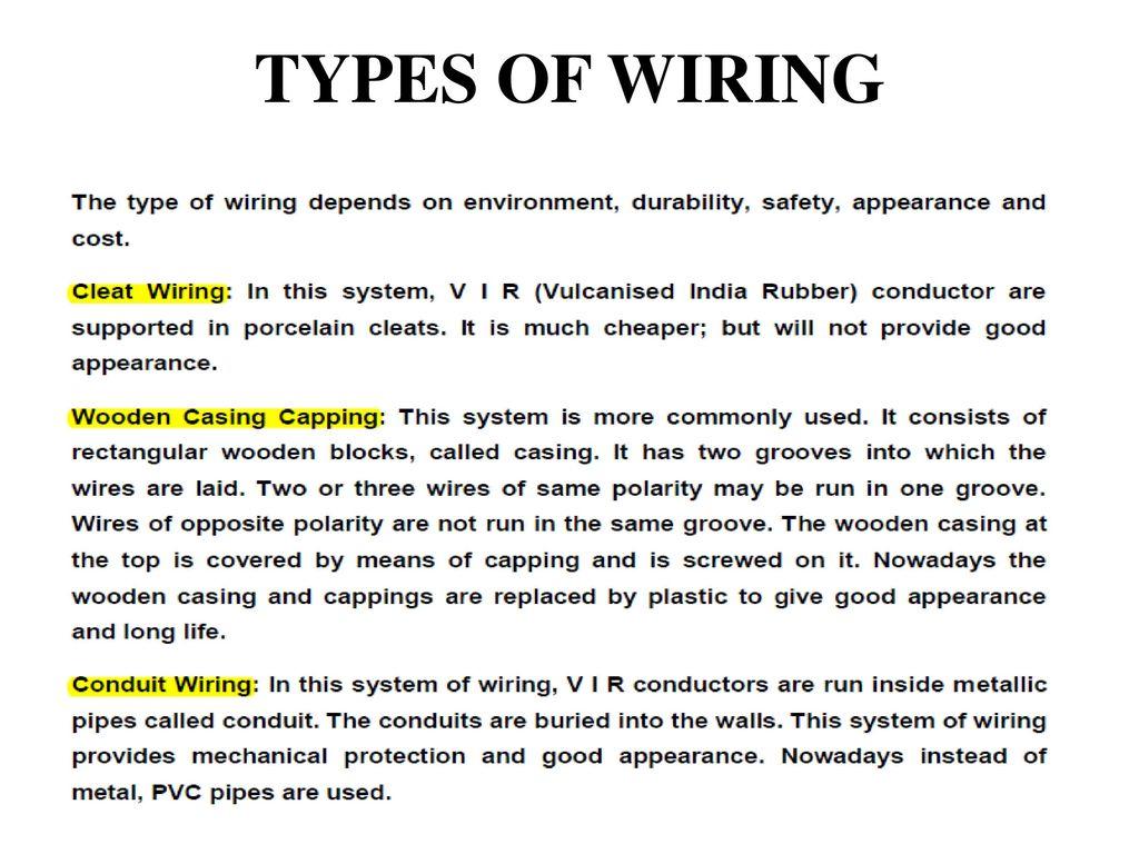 type of wiring basic guide wiring diagram u2022 rh desirehub co