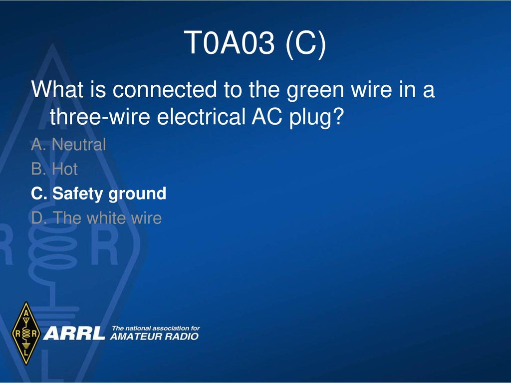 Technician License Course Module Eighteen Electrical and RF Safety ...