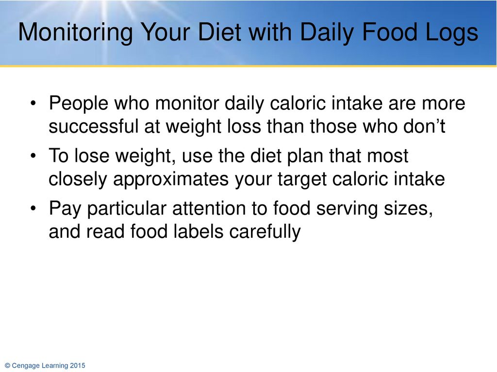 5 Weight Management Ppt Download