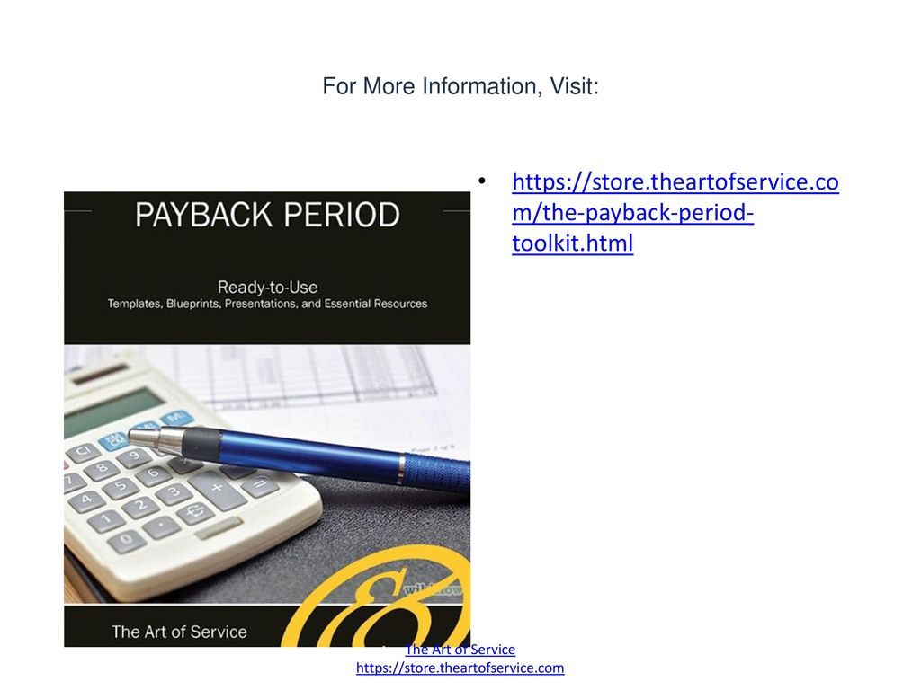 Payback Period Ppt Download