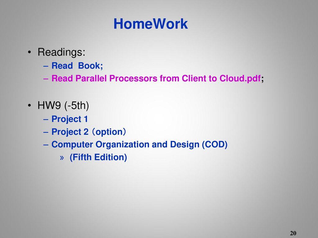 Computer Organization Design 计算机组成与设计 Ppt Download