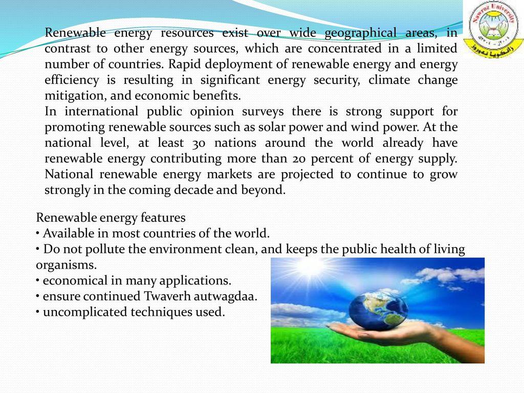 renewable energy renewable energy is generally defined as energy