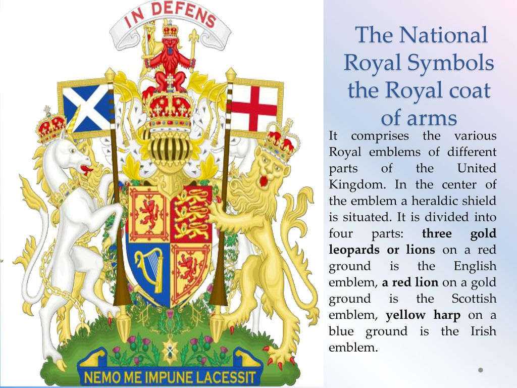 The National Emblems Of Great Britain Ppt Download