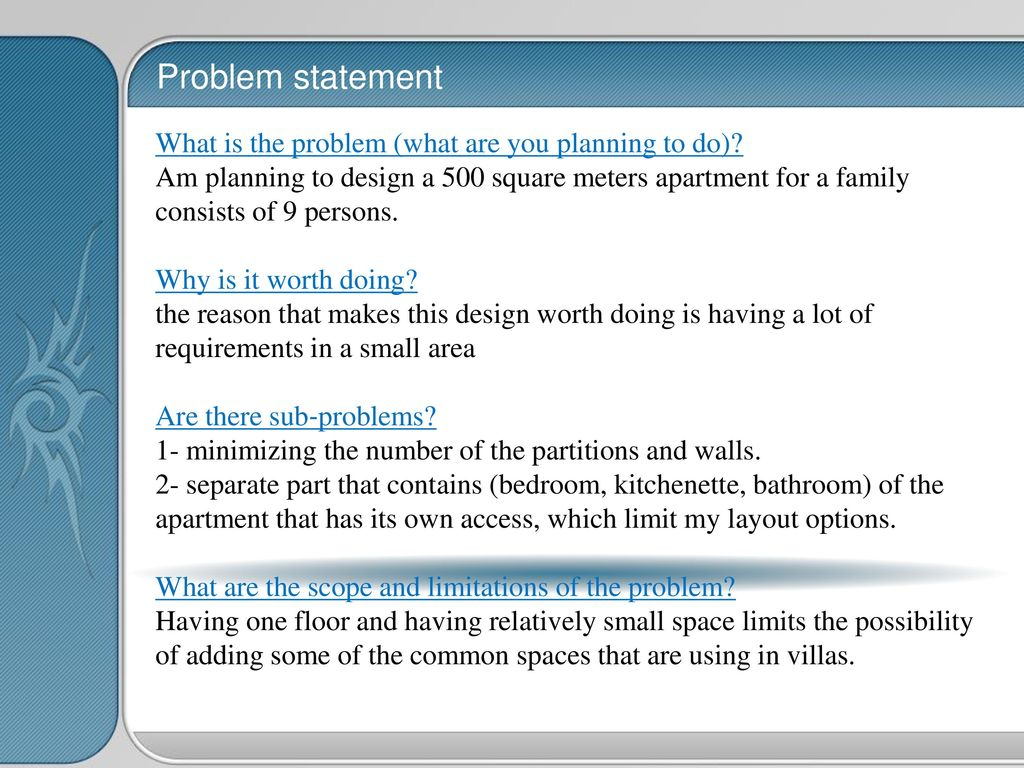 Ides 4513 Interior Design Graduation Project Apartment Design Ppt Download
