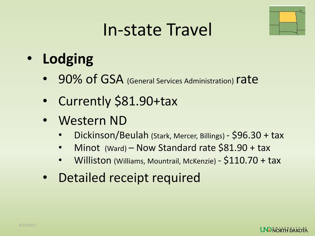 In-state Travel Lodging