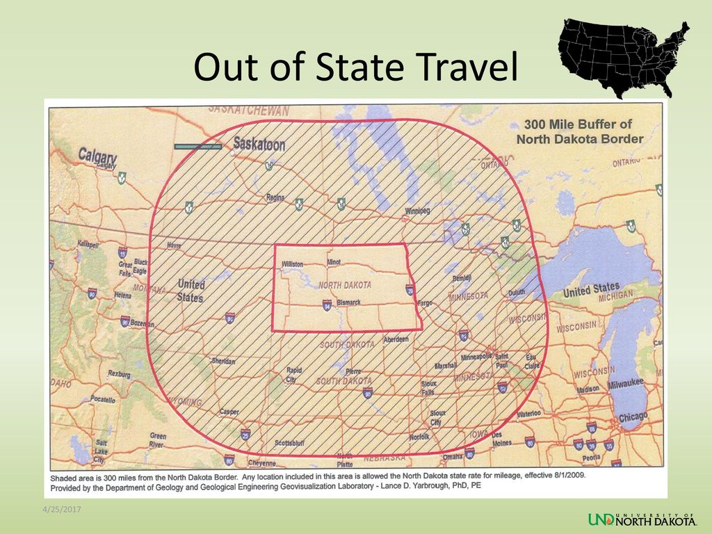Out of State Travel 4/25/2017
