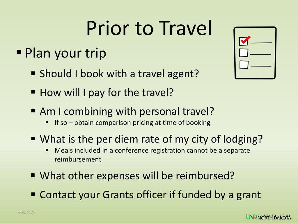 Prior to Travel Plan your trip Should I book with a travel agent