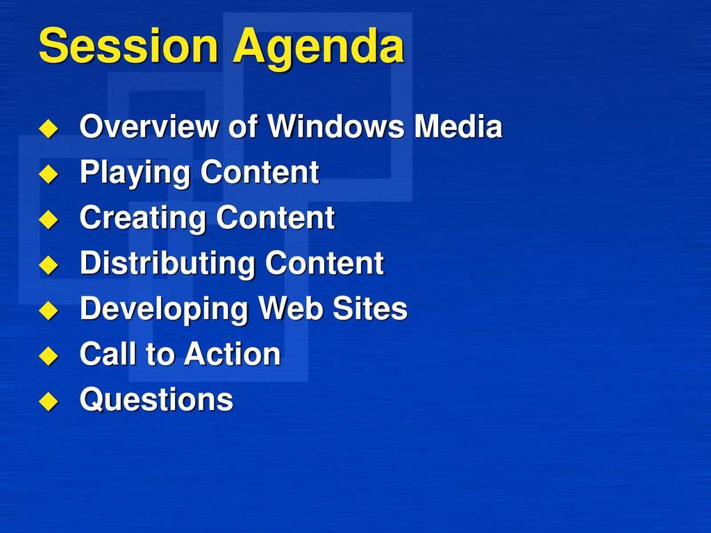 Windows Media Technologies - ppt video online download
