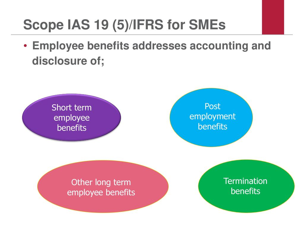 Scope IAS 19 (5)/IFRS for SMEs