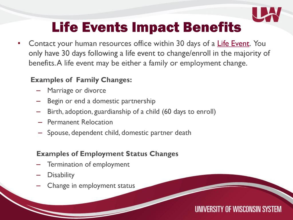 2017 Employee Benefit Summary for Faculty, Academic Staff