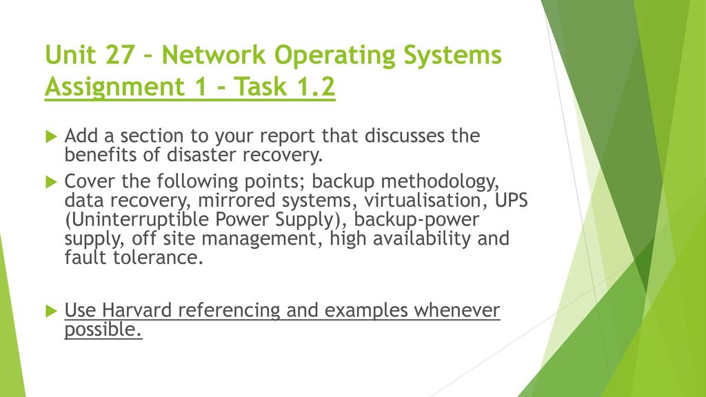 Lecture 1: network operating systems (nos) an introduction. Ppt.