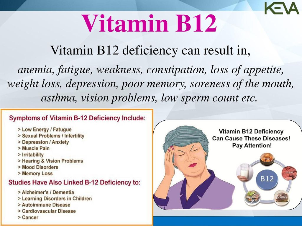 pics Does Vitamin B12 Deficiency Lead To Weight Gain