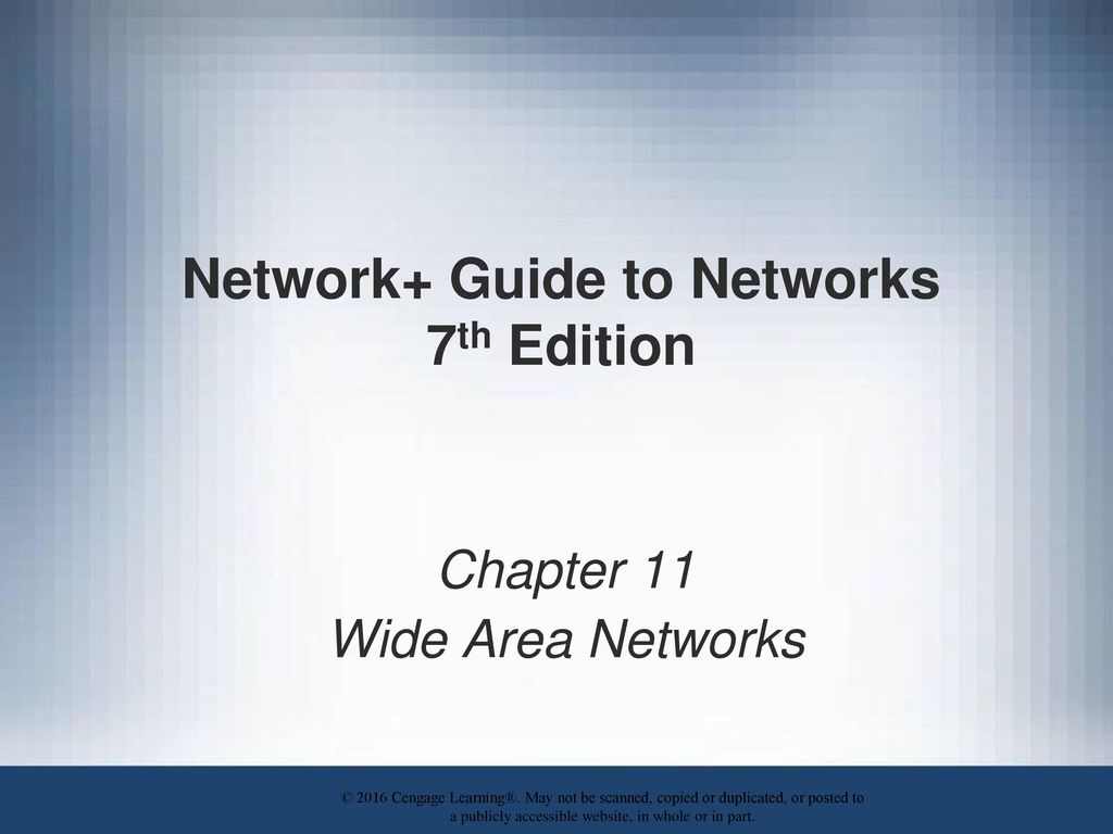 Network Guide To Networks 7th Edition Ppt Download