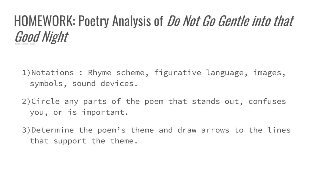 Poetry Grade 10 Period 2 Ppt Download