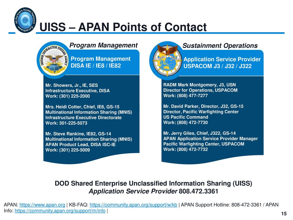 Unclassified Information Sharing Service (UISS) - ppt download