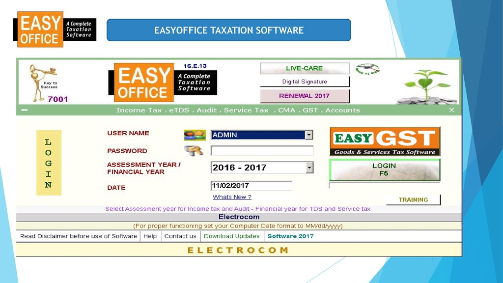 EASYOFFICE A COMPLETE TAXATION SOFTWARE - ppt video online