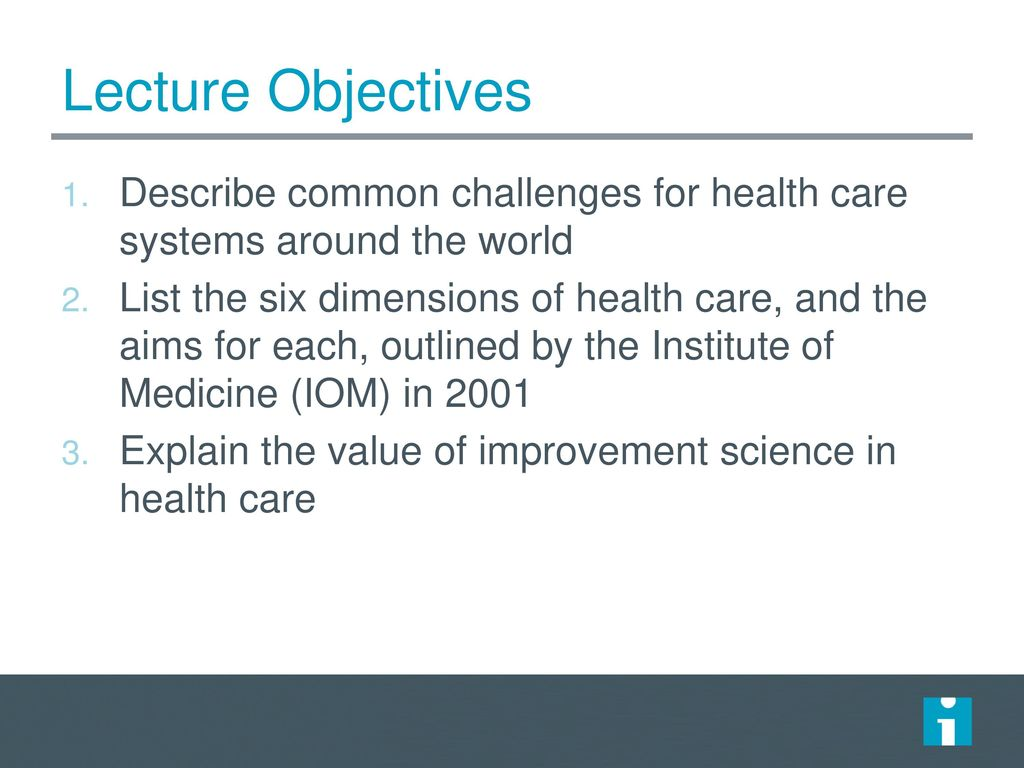 Fundamentals of Health Care Improvement - ppt video online