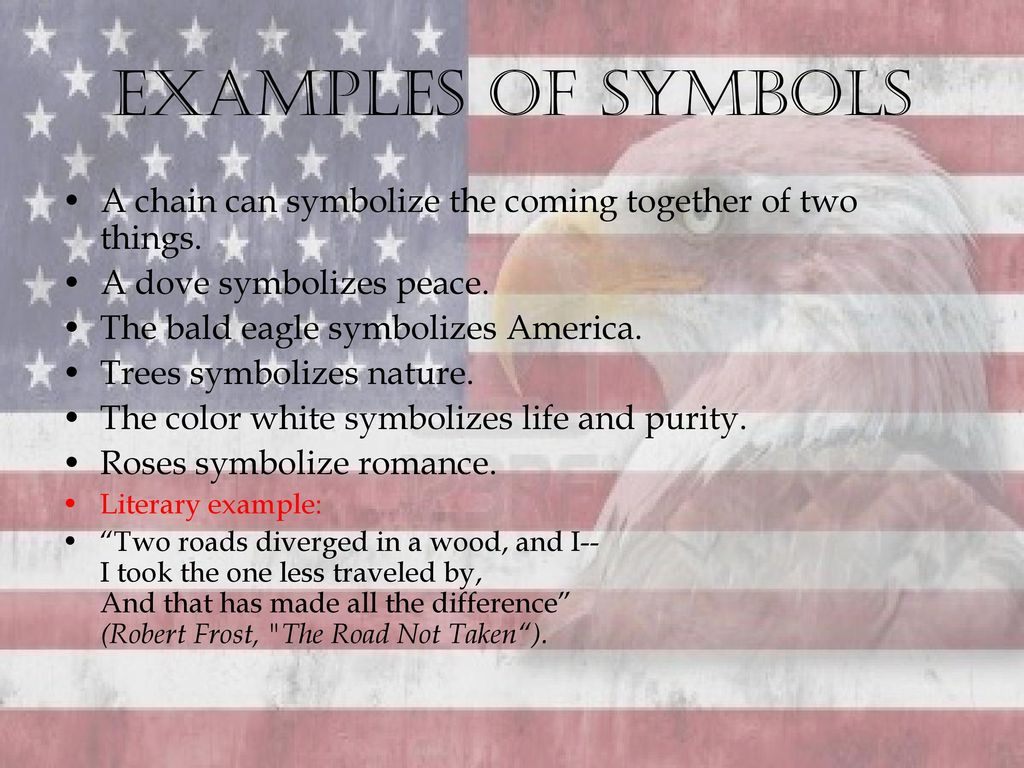 examples of symbols in life
