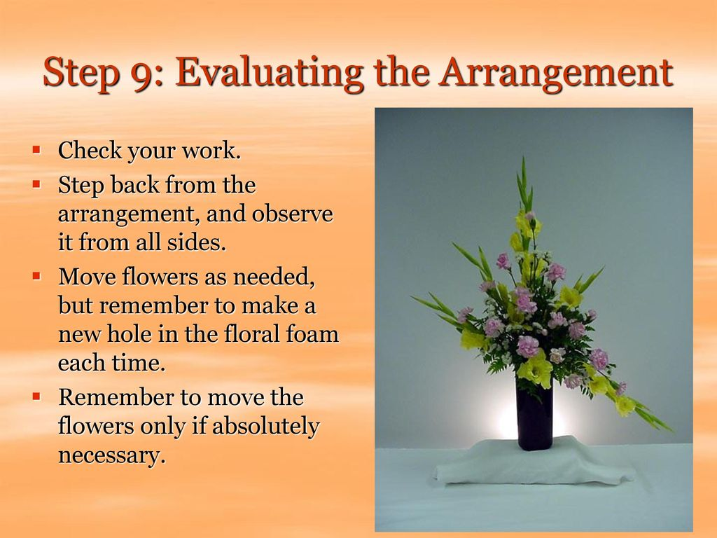 Step 9: Evaluating the Arrangement