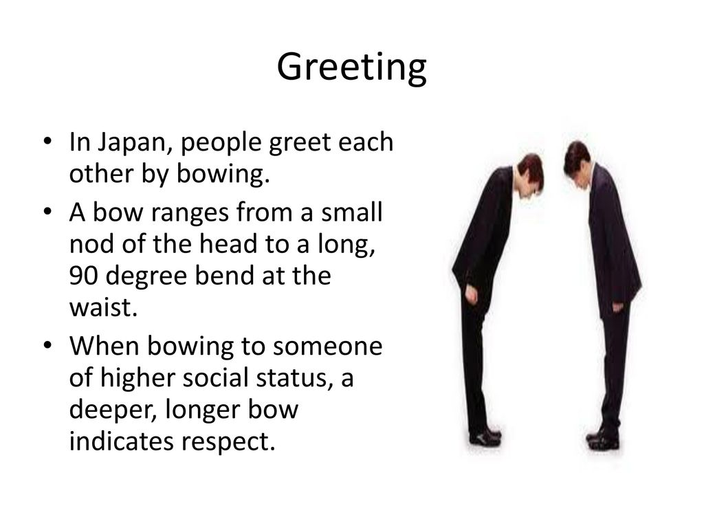 Japan ppt download 5 greeting in japan people greet each other m4hsunfo