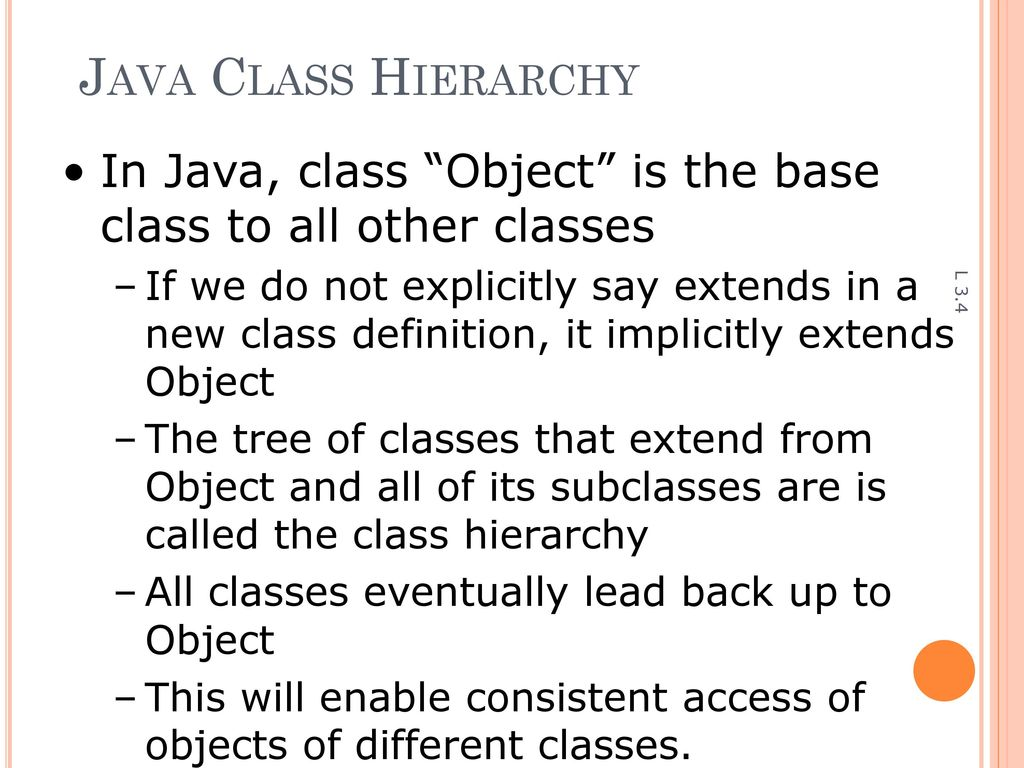 Object Oriented Programming with JAVA - ppt download