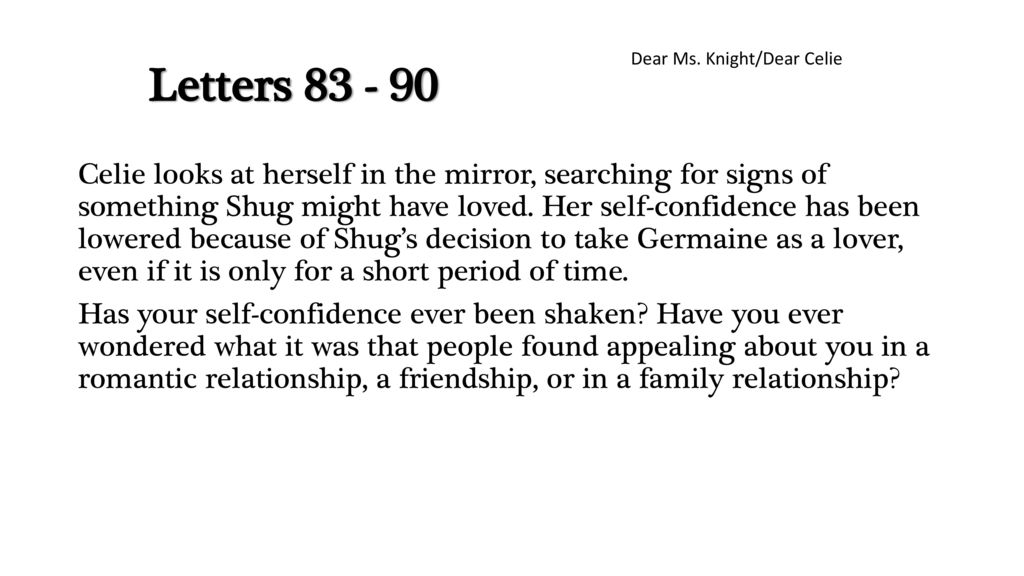 shug and celie relationship essay