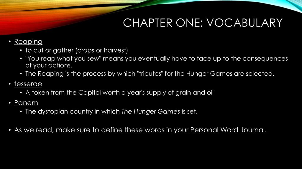 The hunger games ppt download 11 chapter ccuart Gallery