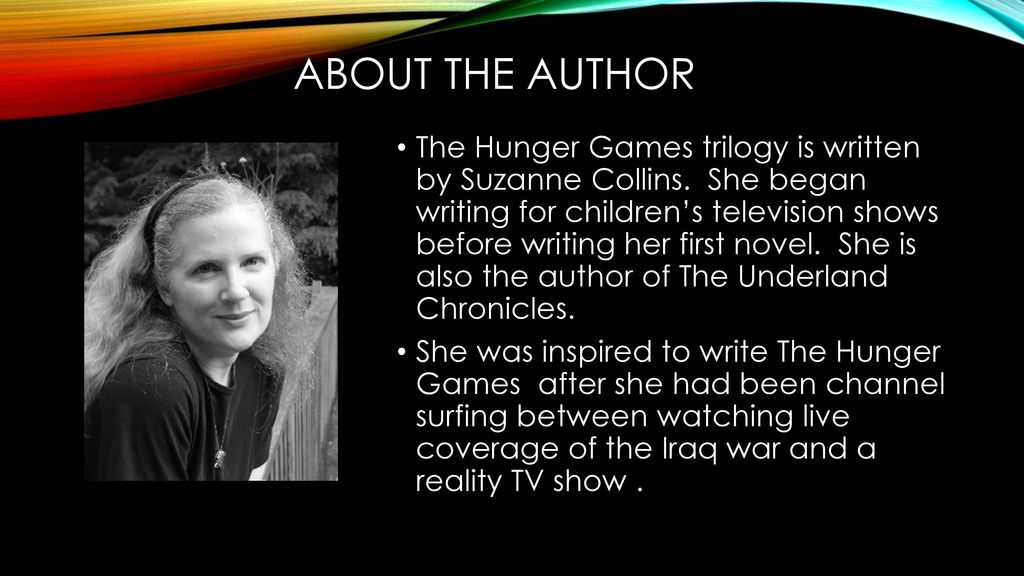who writes the hunger games