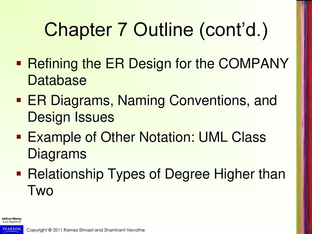Data modeling using the entity relationship er model ppt video 3 chapter ccuart Images