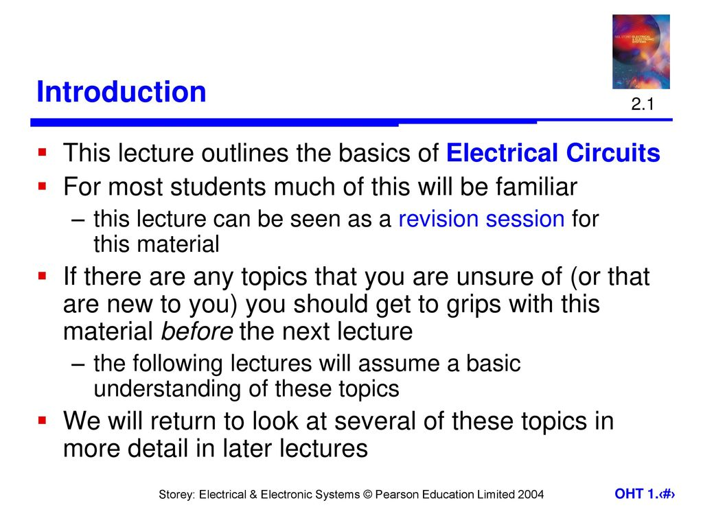 Engineering Systems Introduction Ppt Download Circuits Circuitsymbols Jpg 646 Electrical This Lecture Outlines The Basics Of