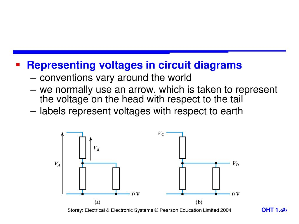 Engineering Systems Introduction Ppt Download Circuits Circuitsymbols Jpg 646 Electrical Representing Voltages In Circuit Diagrams