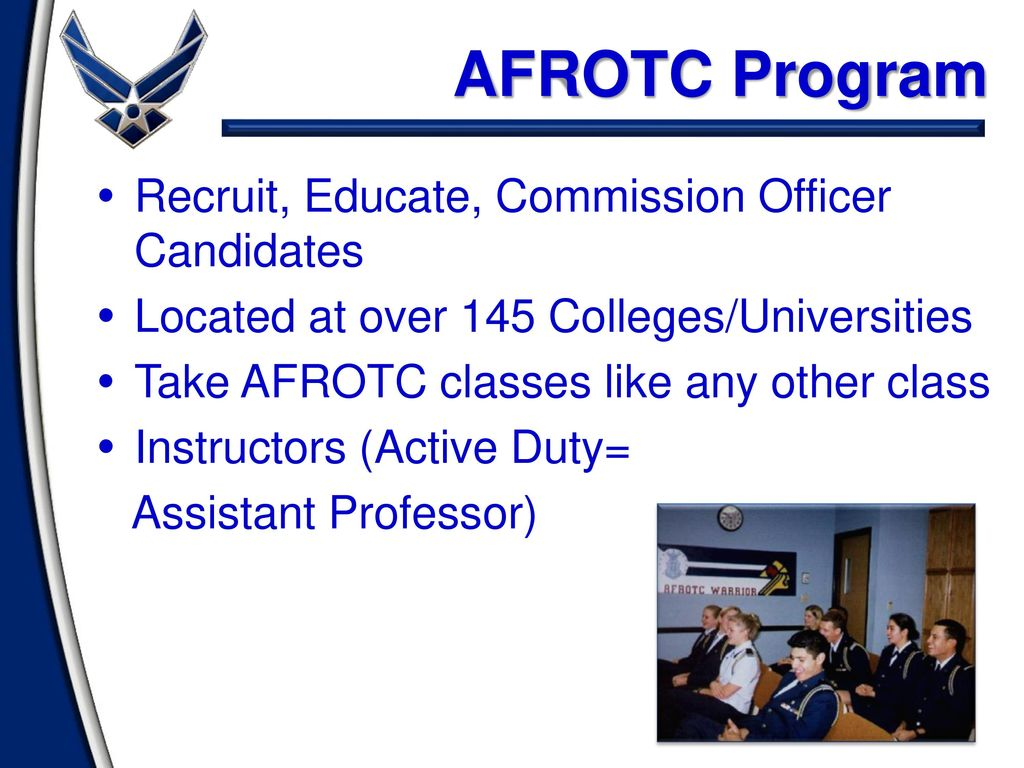 Introduction To Air Force Rotc Ppt Download