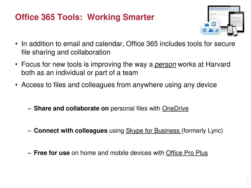 Office 365 Tools OneDrive and Skype for Business - ppt download