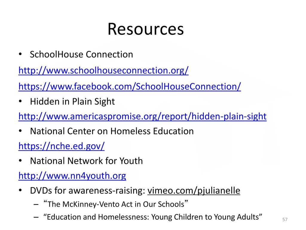 Hidden In Plain Sight Homeless Students >> The Every Student Succeeds Act And Students Experiencing