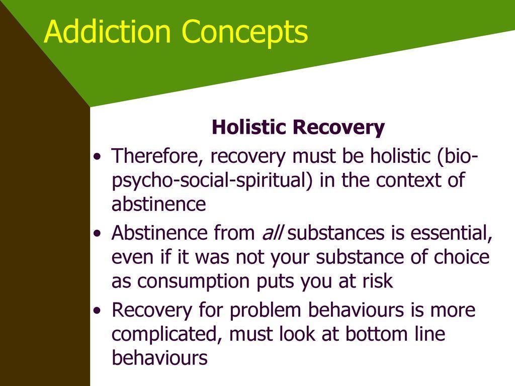 Addiction is Addiction LIC 6 Lifestyle Intervention