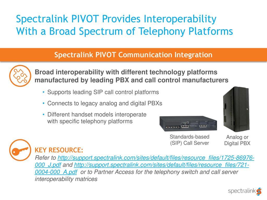 Spectralink PIVOT 87-Series - ppt download
