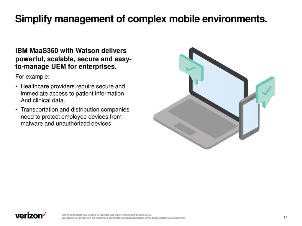 Take control of your mobile environment with - ppt video