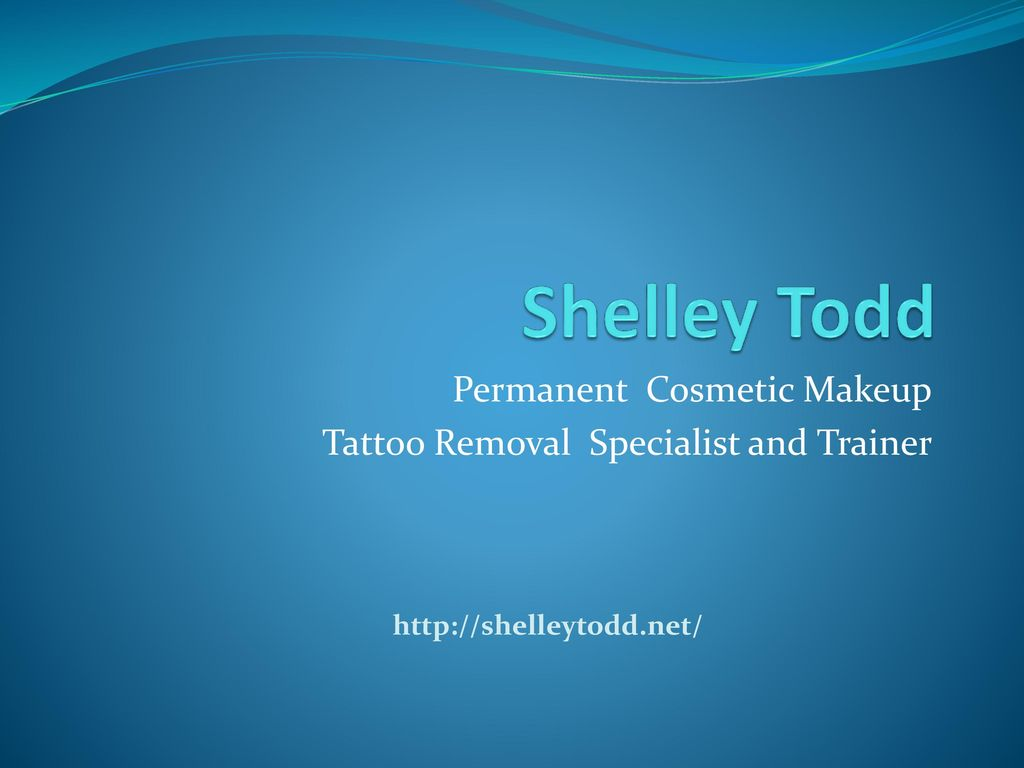 Permanent Cosmetic Makeup Tattoo Removal Specialist and