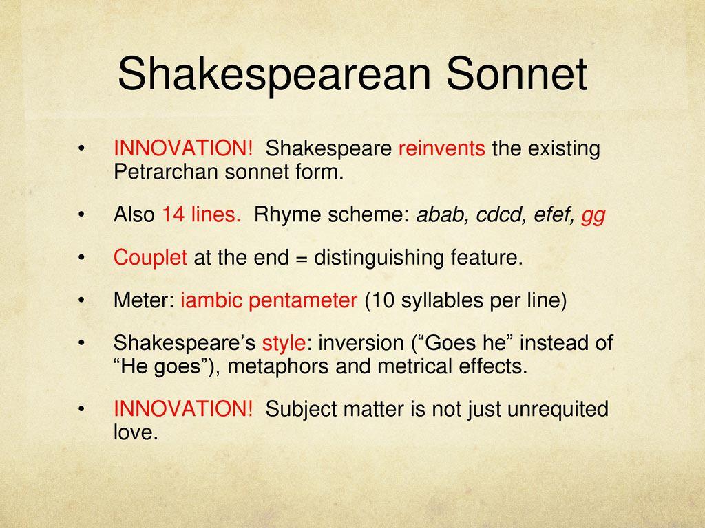 petrarch sonnet 134