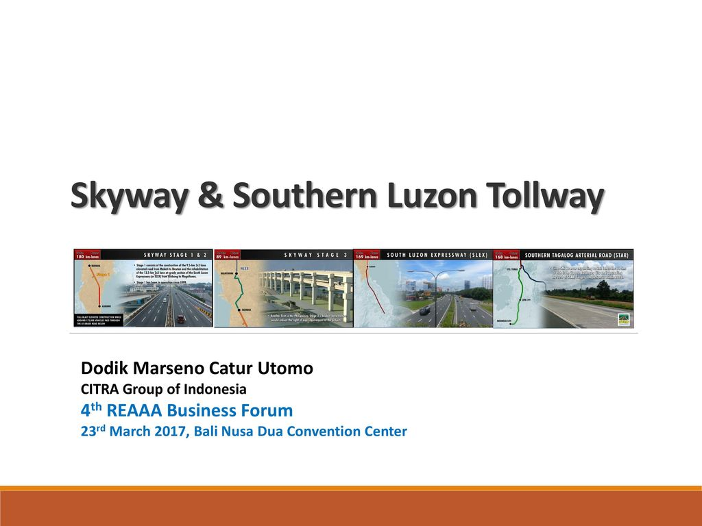 Skyway & Southern Luzon Tollway