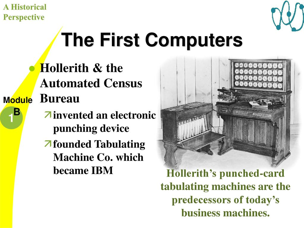 The First Computers Jacquard's Loom: programmed a loom - ppt