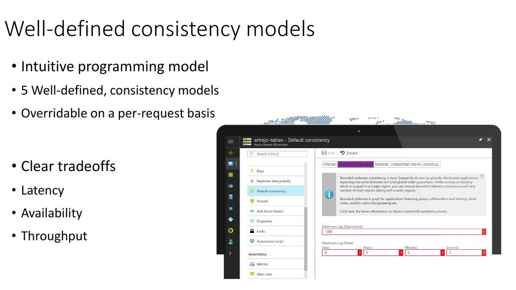 Well-defined consistency models