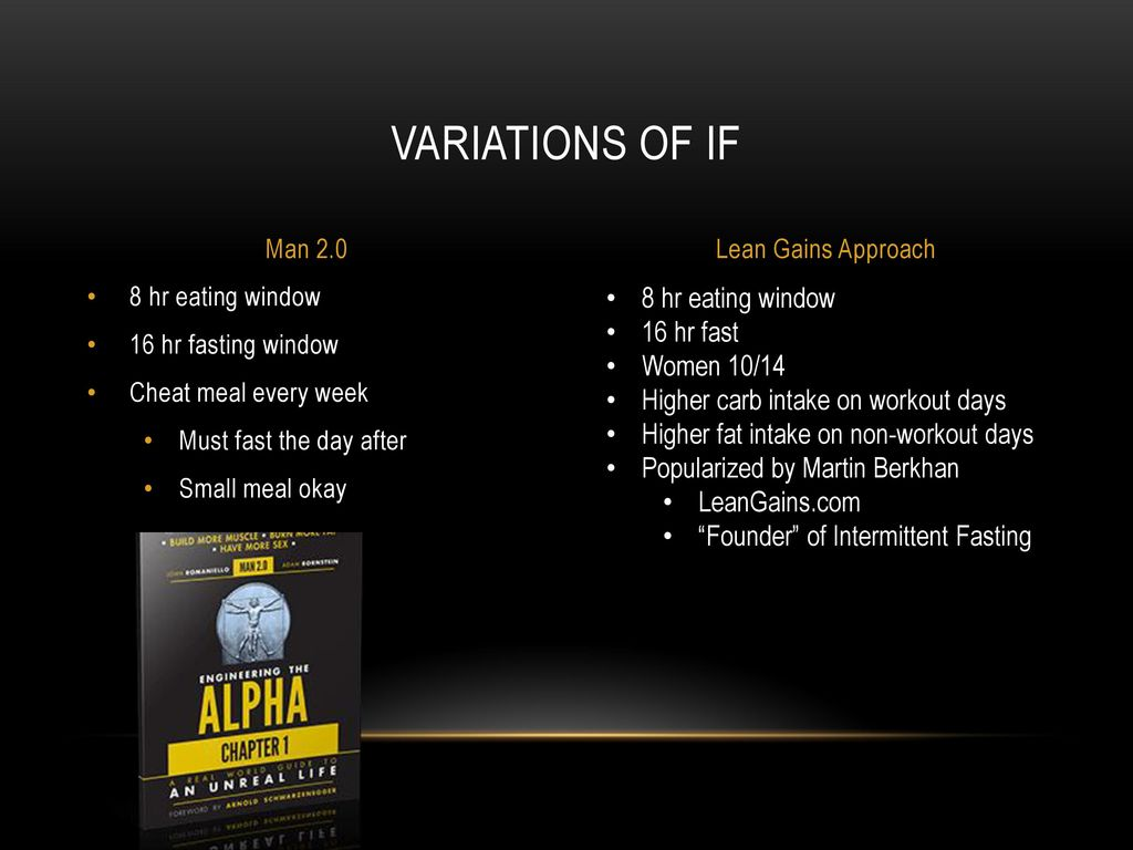 Intermittent fasting Nick LaToof  - ppt download