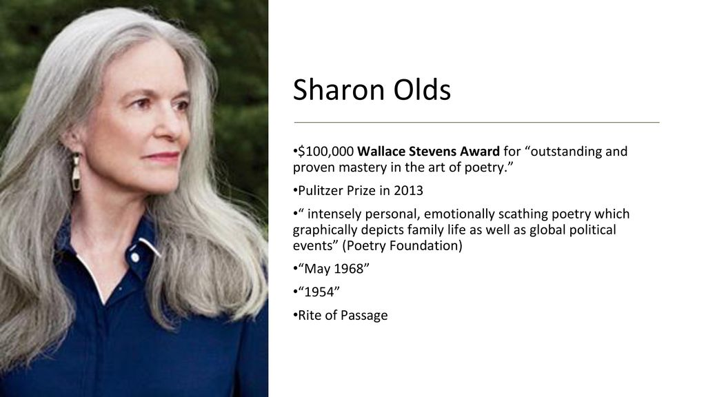 rite of passage sharon olds