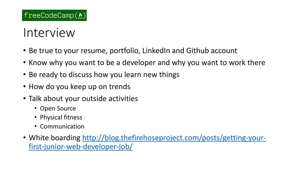 some thoughts from the hiring side ppt download