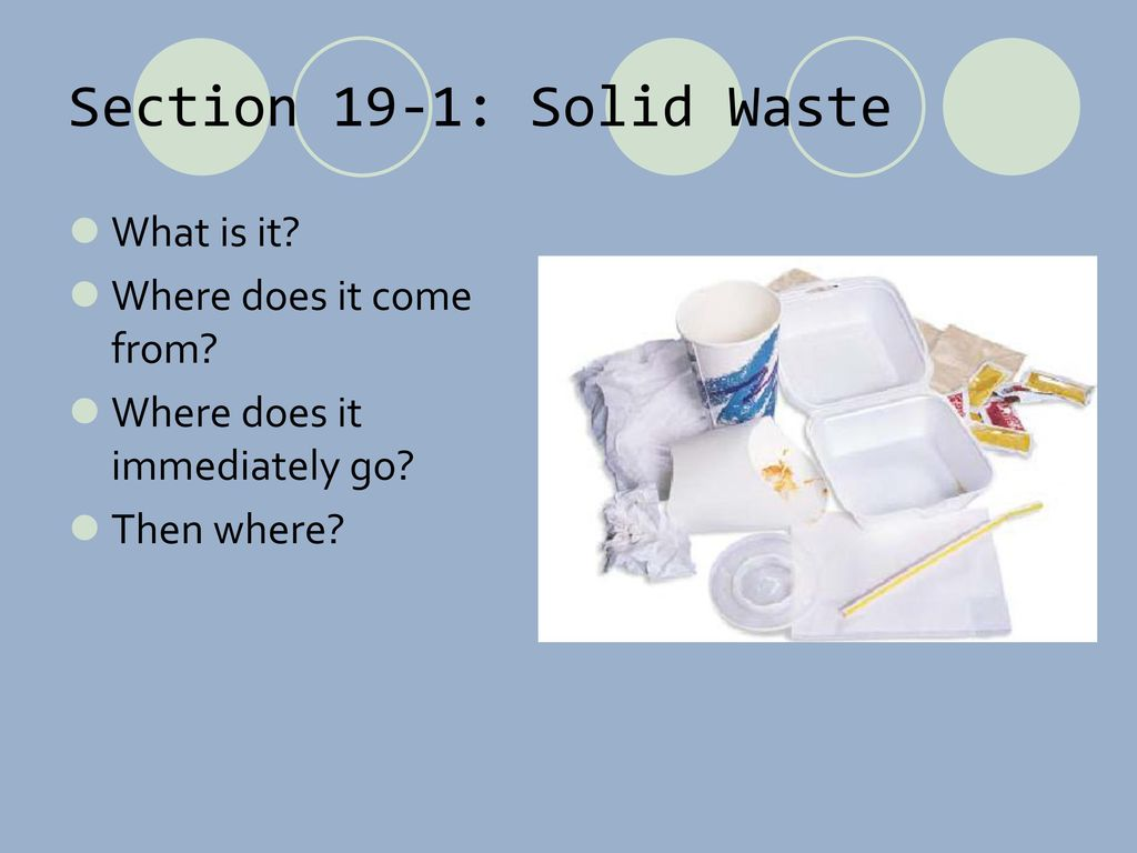 WASTE Chapter ppt download