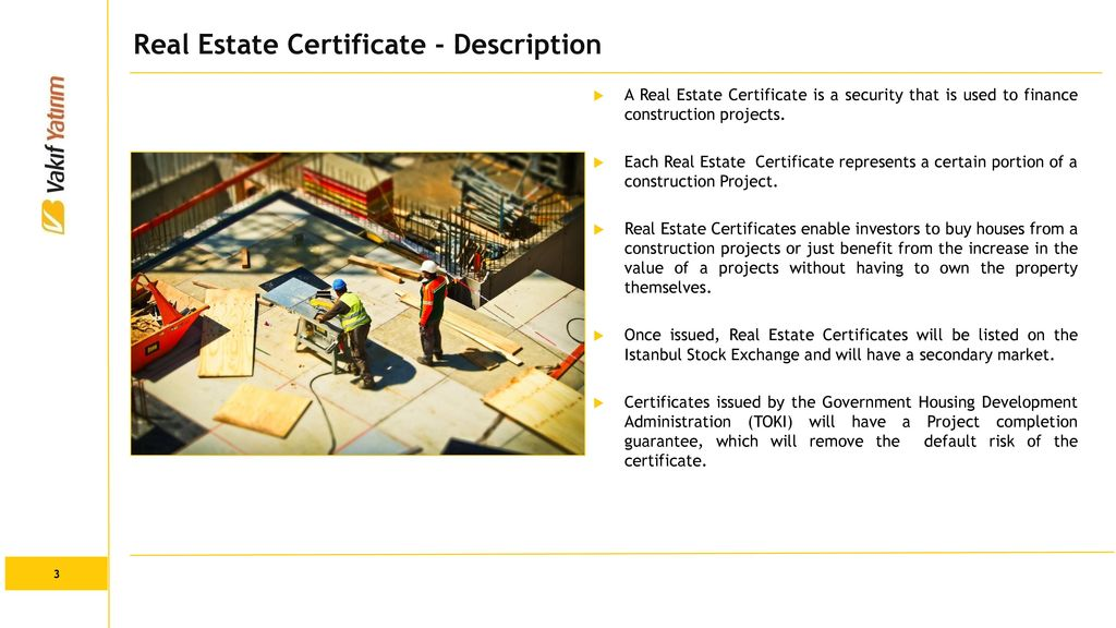 Real Estate Certificates Ppt Download